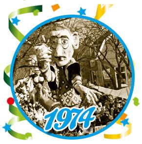 Carnavalsoptocht Schaijk - 1974