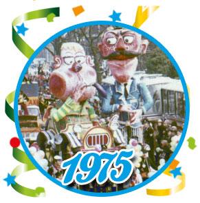 Carnavalsoptocht Schaijk - 1975