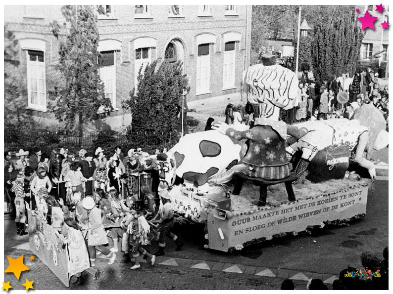 Oprichter Moeslands Carnaval Ad van Dorst