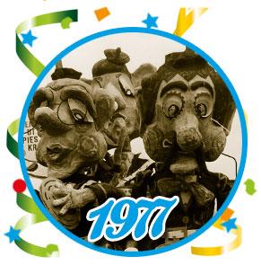 Carnavalsoptocht Schaijk - 1977