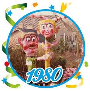 Carnavalsoptocht Schaijk - 1980