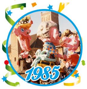 Carnavalsoptocht Schaijk - 1985