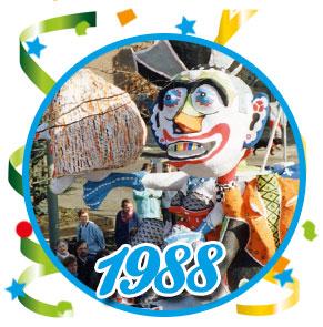 Carnavalsoptocht Schaijk - 1988