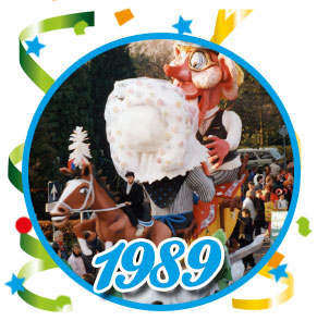 Carnavalsoptocht Schaijk - 1989