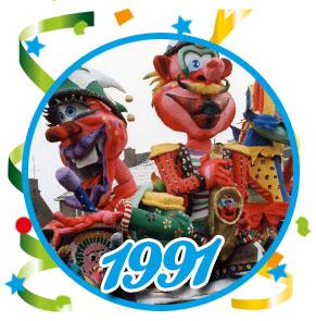 Carnavalsoptocht Schaijk - 1991