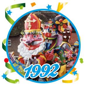 Carnavalsoptocht Schaijk - 1992