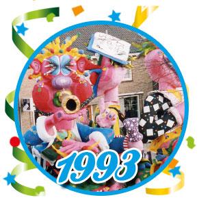 Carnavalsoptocht Schaijk - 1993