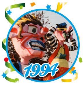 Carnavalsoptocht Schaijk - 1994