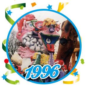Carnavalsoptocht Schaijk - 1996