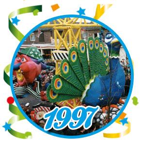 Carnavalsoptocht Schaijk - 1997