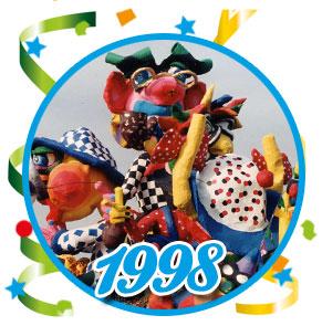 Carnavalsoptocht Schaijk - 1998