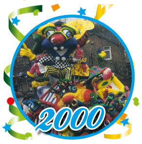 Carnavalsoptocht Schaijk - 2000