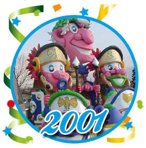 Carnavalsoptocht Schaijk - 2001