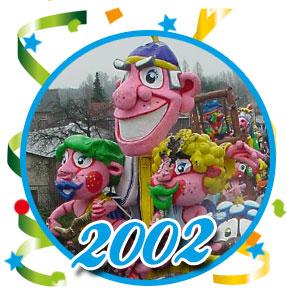 Carnavalsoptocht Schaijk - 2002