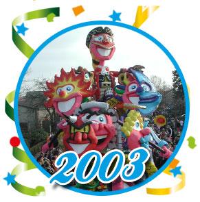 Carnavalsoptocht Schaijk - 2003