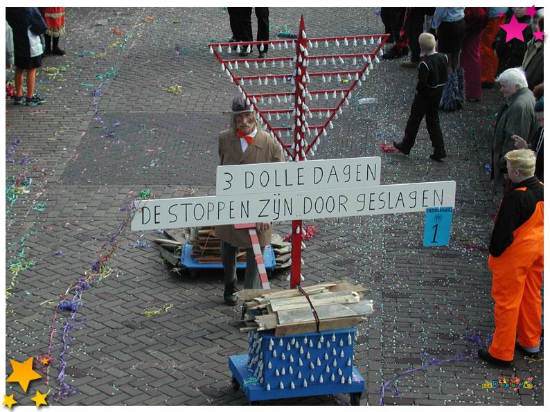 Jan Vos Carnavalsoptocht Schaijk - 2003