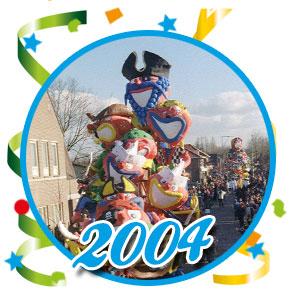 Carnavalsoptocht Schaijk - 2004