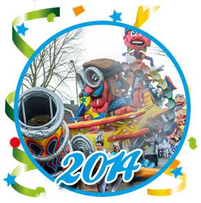 Carnavalsoptocht Schaijk - 2014