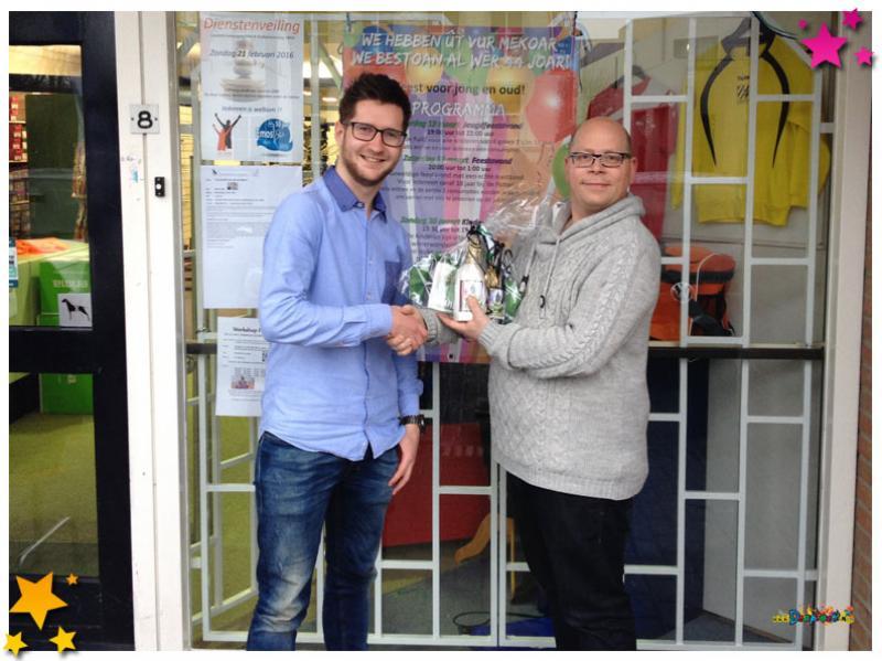 Djarek van den Hoogen wint prijsvraag 2016