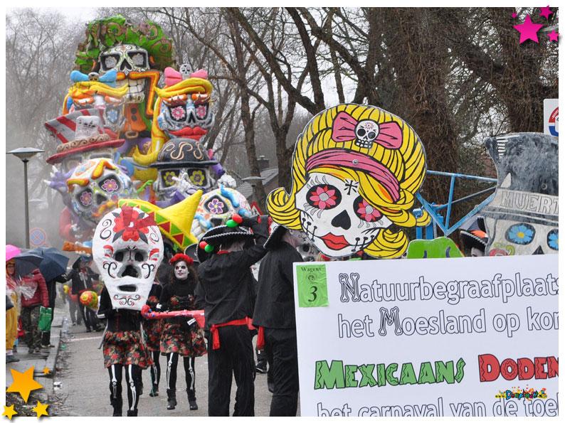 Carnavalsoptocht Schaijk - 2016