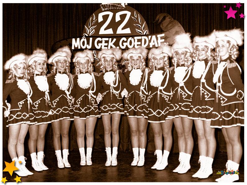 De Dansgarde tijdens 22 Jaar Moesland Schaijk