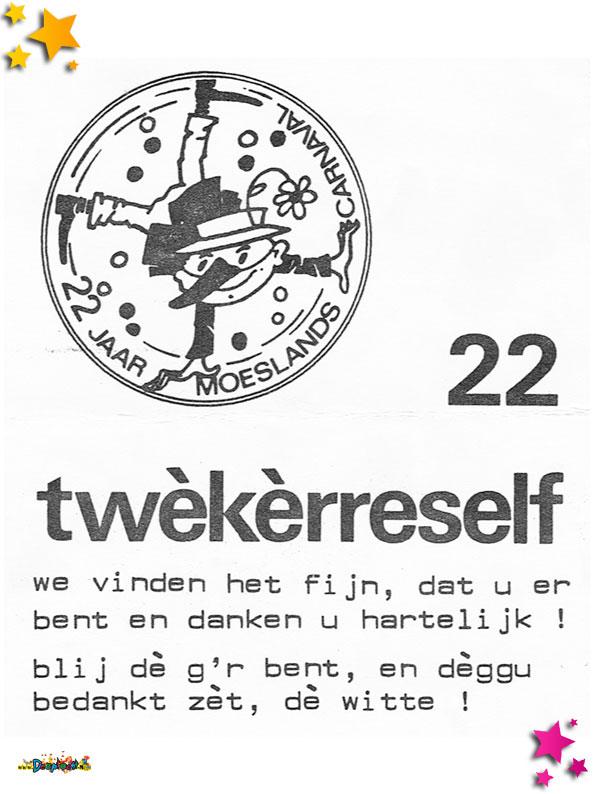 Bedankje van 22 jaar Moesland Schaijk