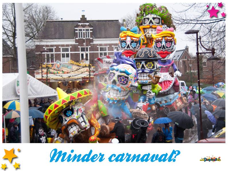 Minder carnaval?