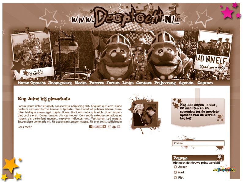 Vernieuwde website 2011