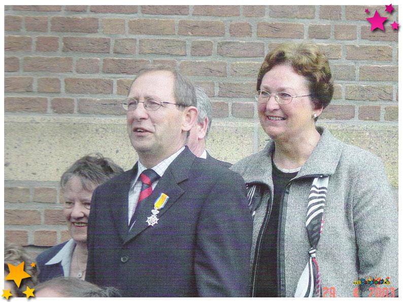 2003 Jan Danen Koninklijke onderscheiden