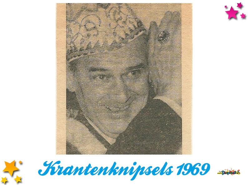Krantenknipsels Moesland 1969