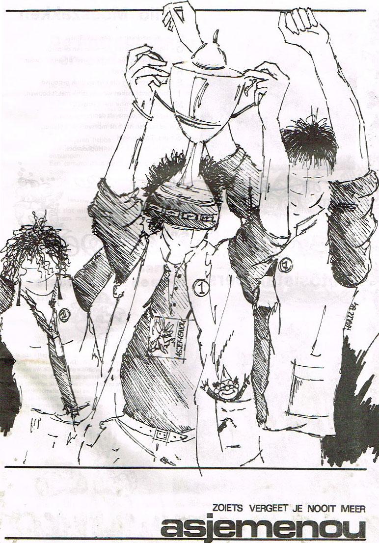 Stukje Asjemenou carnavalskrant - 1984