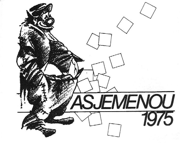 Stukje Asjemenou carnavalskrant - 1991