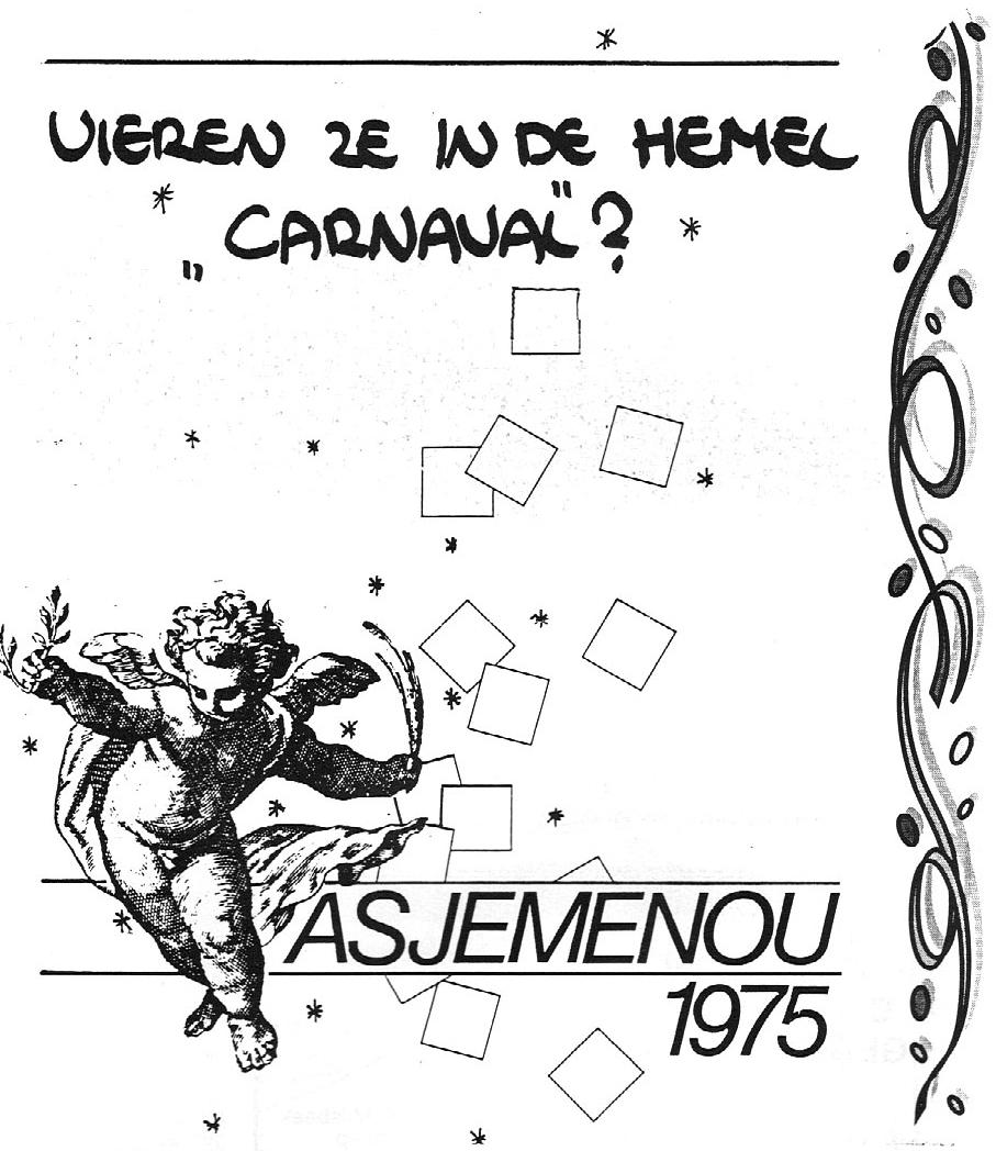 Stukje Asjemenou carnavalskrant - 1995