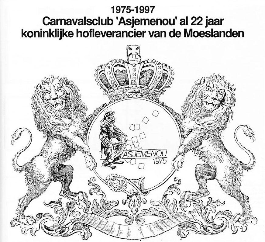 Stukje Asjemenou carnavalskrant - 1997