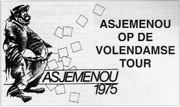 Stukje Asjemenou carnavalskrant - 1999