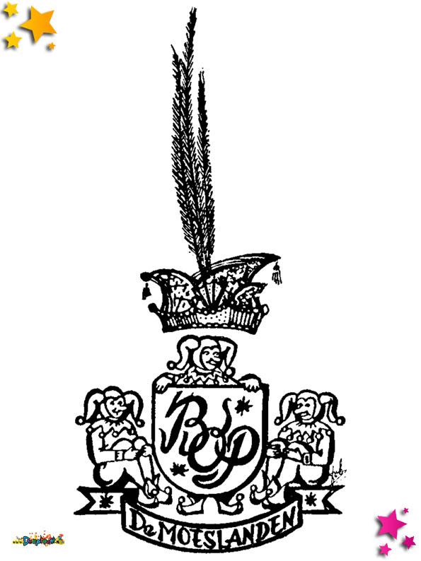 Logo Broederschap der Oud Prinsen gemaakt door Frans van Boekel.