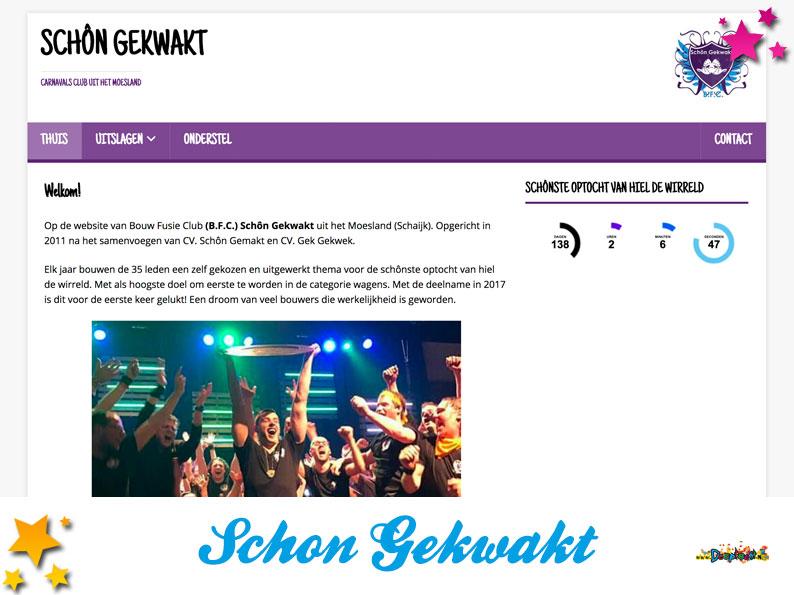 Website Schon Gekwakt