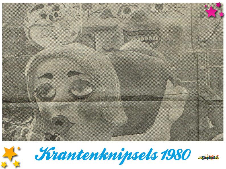 Krantenknipsels Moesland 1980