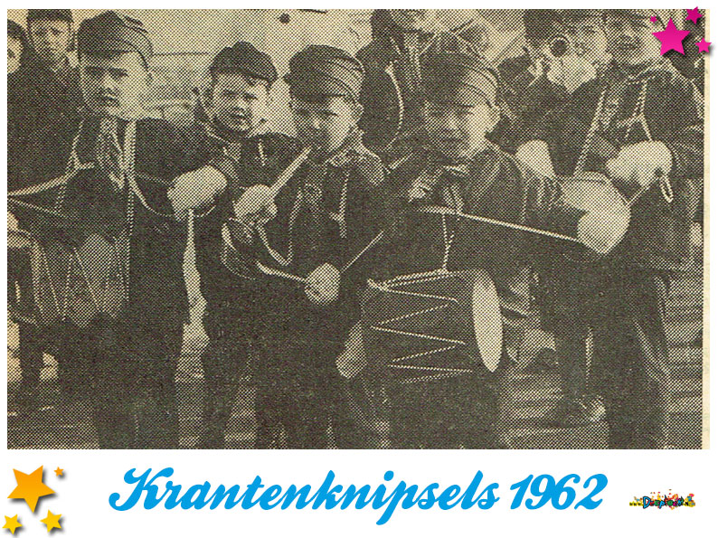 Krantenknipsels Moesland 1962