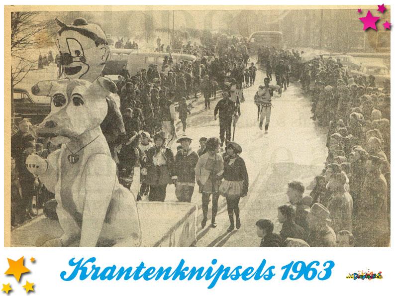 Krantenknipsels Moesland 1963