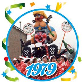 Carnavalsoptocht Schaijk - 1979