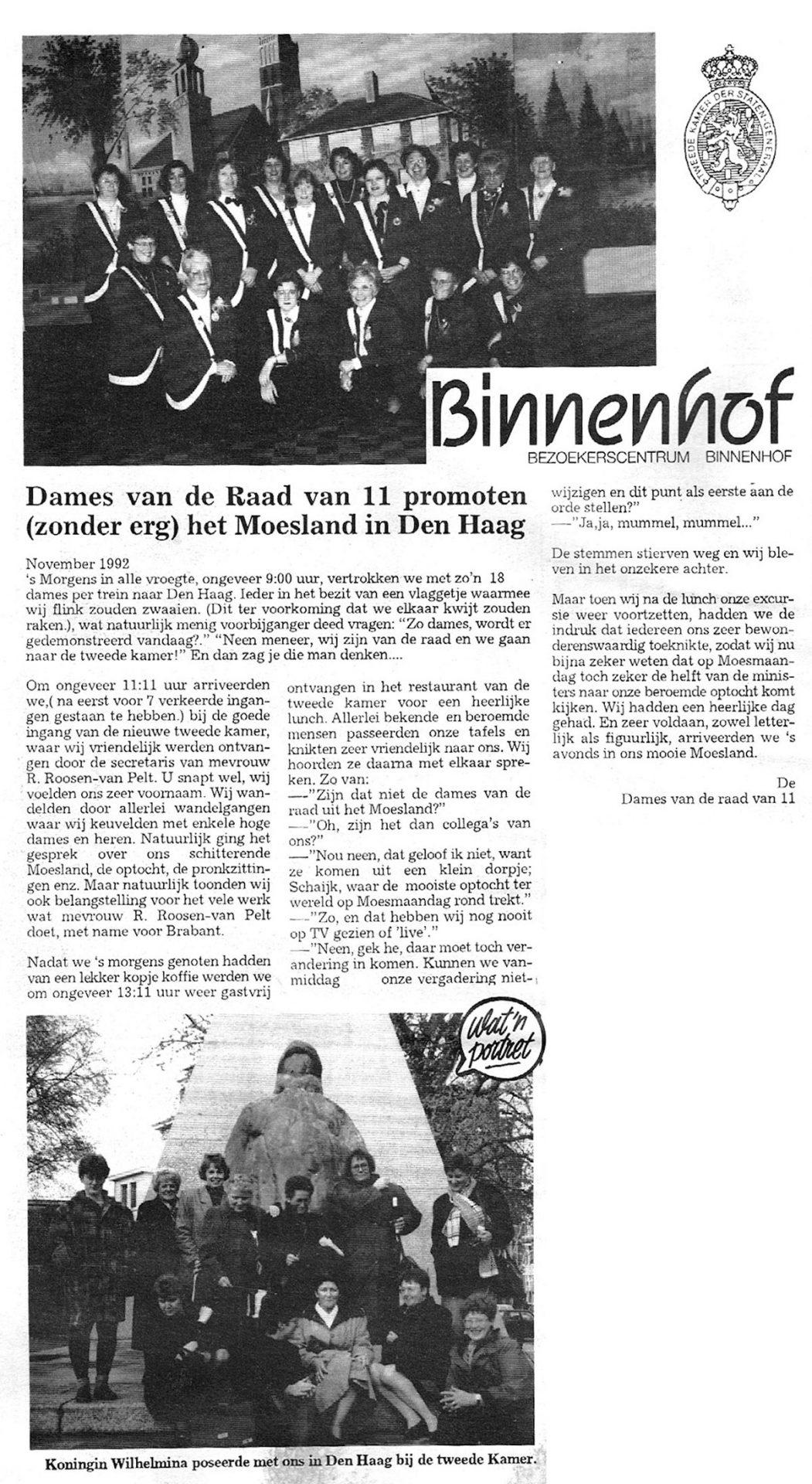 Carnavalskrant 't Moes Nie Moete - 1993