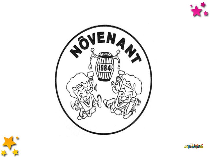 Logo carnavalsvereniging Novenent