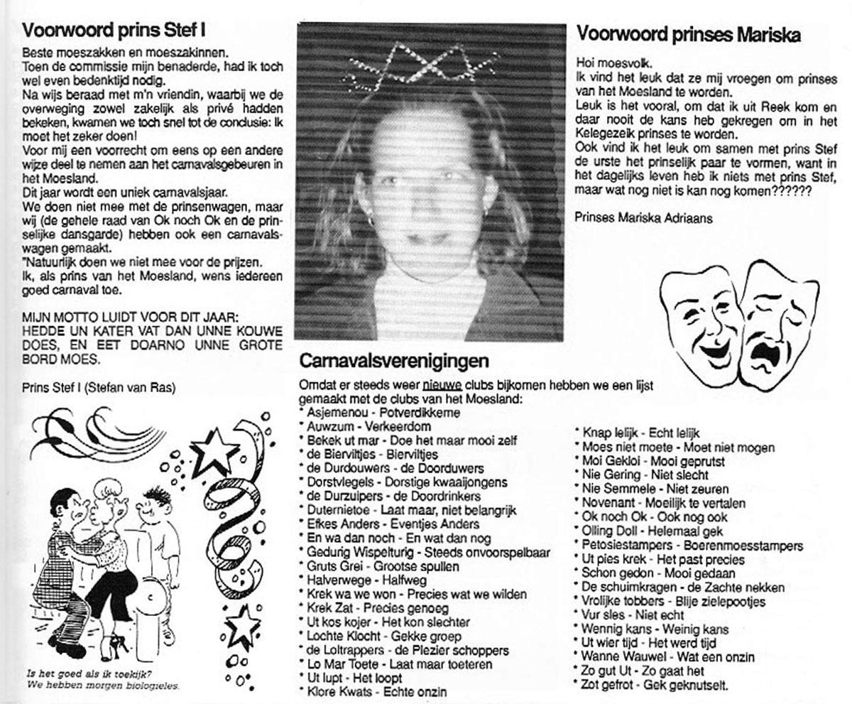 Carnavalskrant Ok Noch Ok - 1997