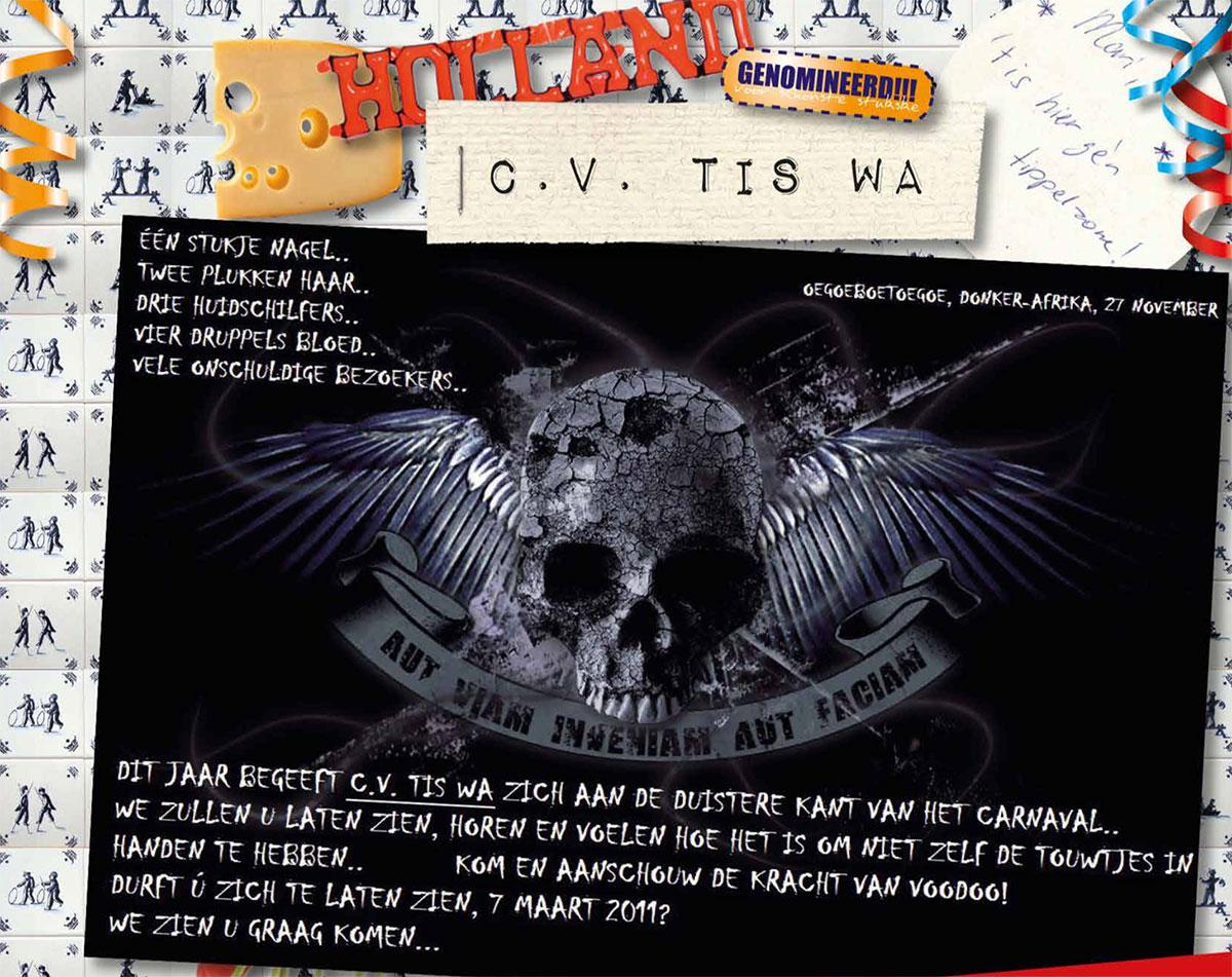 Stukje uit de carnavalskrant van Tis Wa - 2011