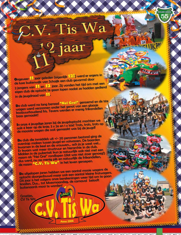 Stukje uit de carnavalskrant van Tis Wa - 2013