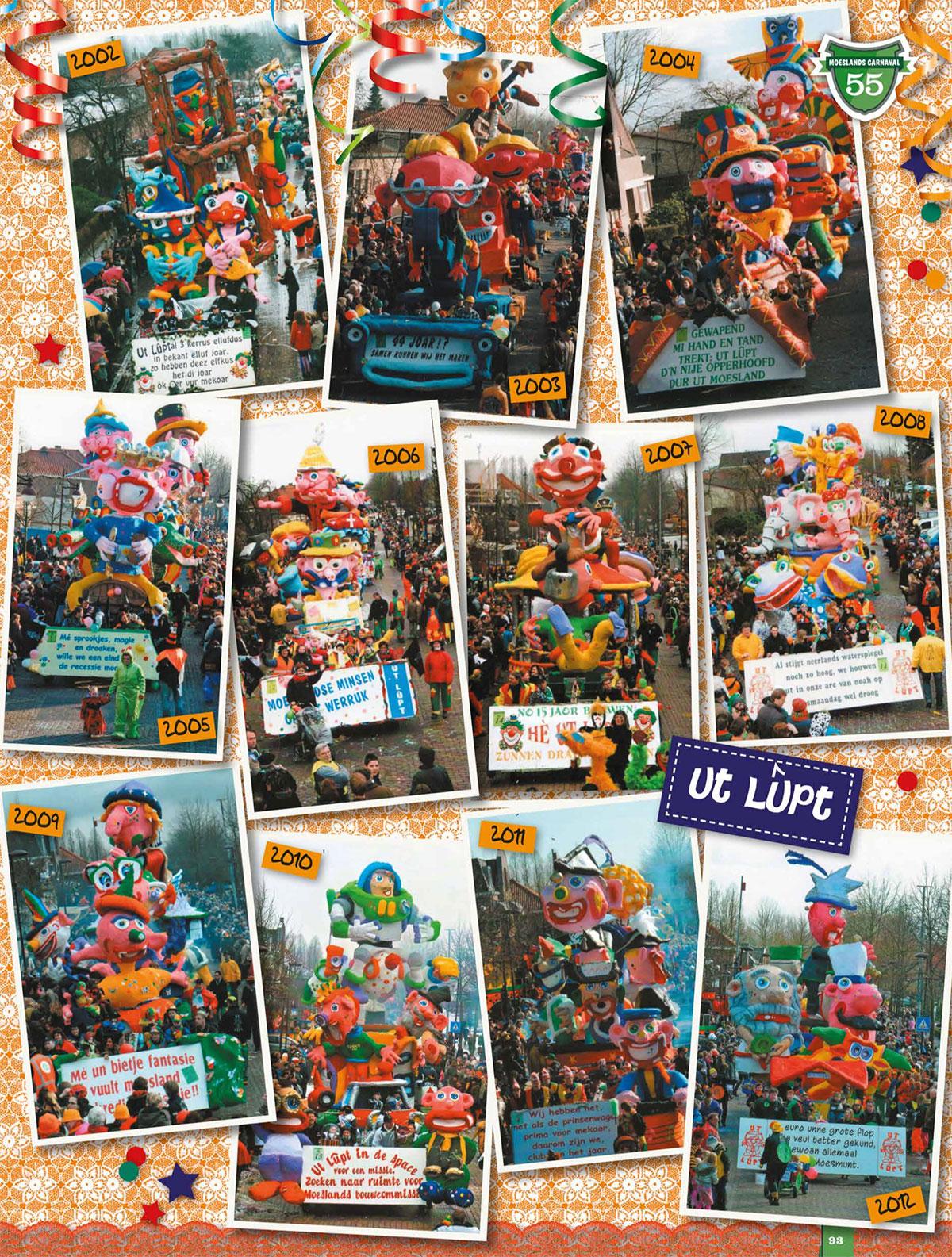 Stukje van Ut Lupt uit de carnavalskrant van Schaijk - 2013