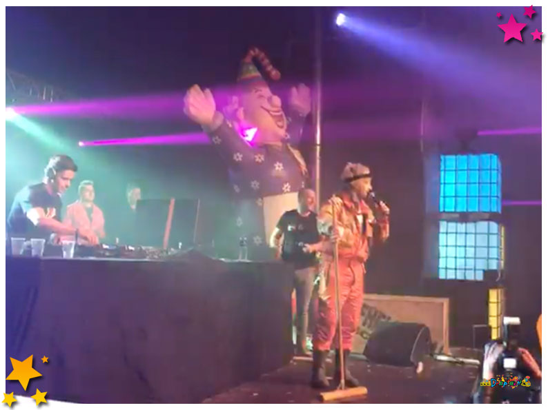 Prins Bart geeft gastoptreden Duifhelse Plak 2018