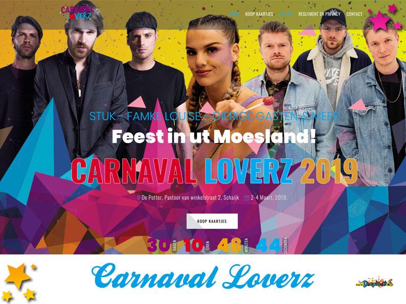 Website Carnaval Loverz