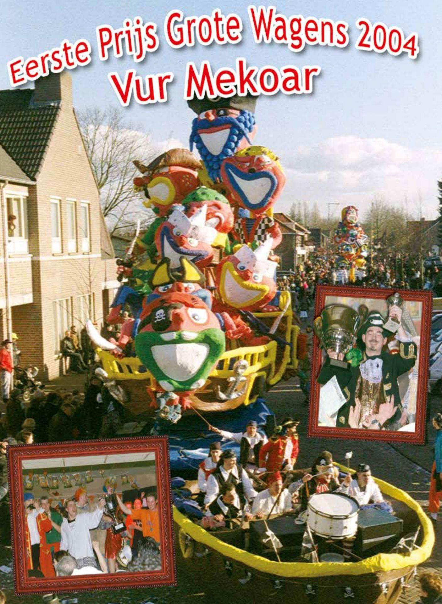 Stukje uit de carnavalskrant van Vur Mekoar - 2005
